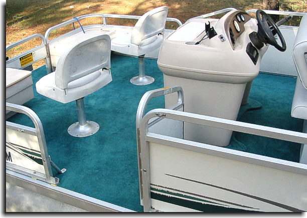 Welcome to catalina custom upholstery showcase gallery for Pontoon boat interior designs